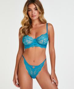 Isabelle icke-vadderad bygelbehå, blå