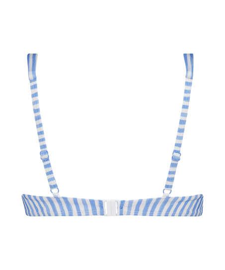 Icke formpressad bikini-överdel med bygel Julia, blå