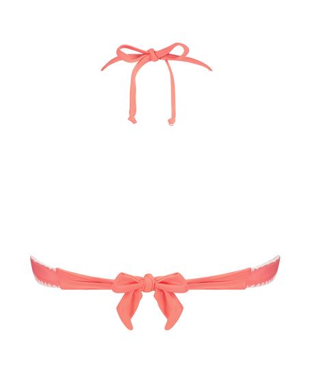 Maya formpressad bandeau-bikinitopp, Rosa