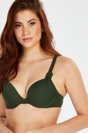 Hunkemöller Luxe push-up bikini-överdel Storlek A - E grön