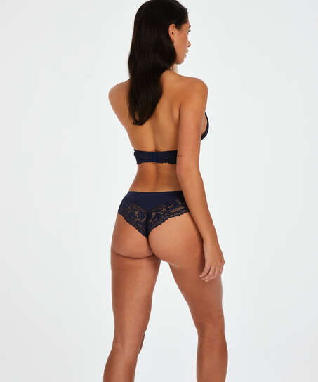 Valencia Brazilian Shorts, blå