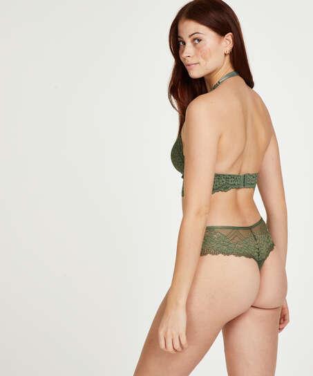 Bella boxerstringtrosa, grön