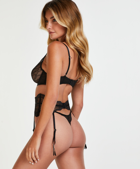 Isabelle strumebandshållare, Svart