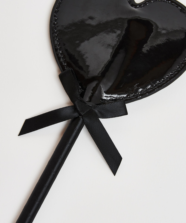 Privat piska i läderlook, Svart, main