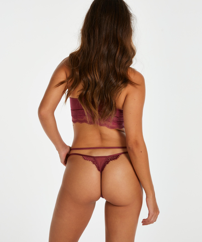 Stringtrosa Odilla, röd, main