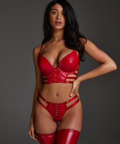 Vicky stringtrosa, röd