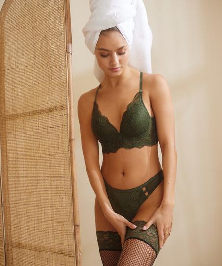 Ollie brazilian-trosa, grön