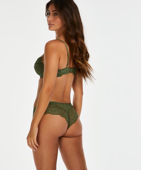 Rose brazilian-trosa, grön