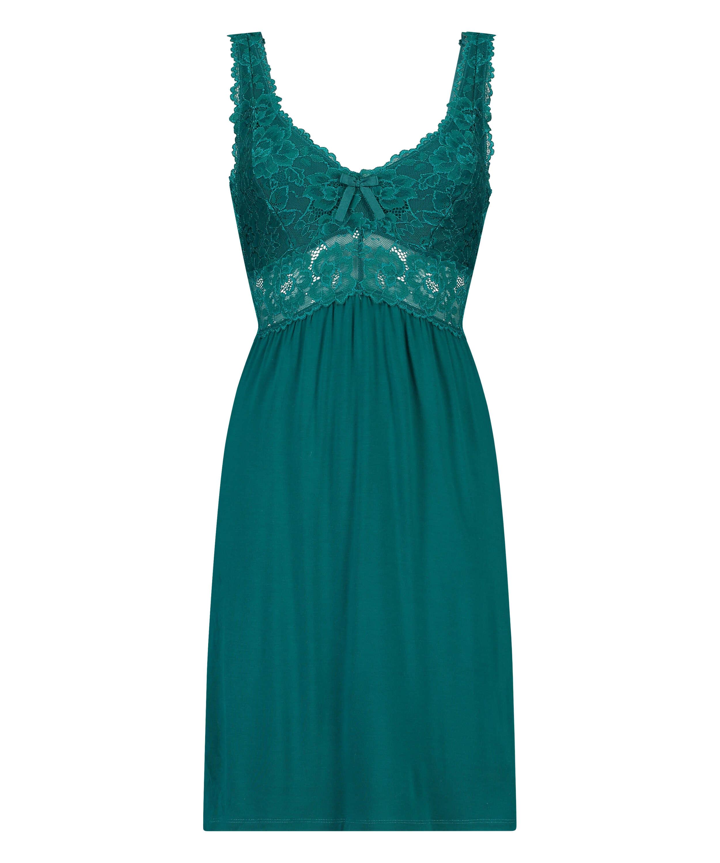 Underklänning Modal Lace, grön, main