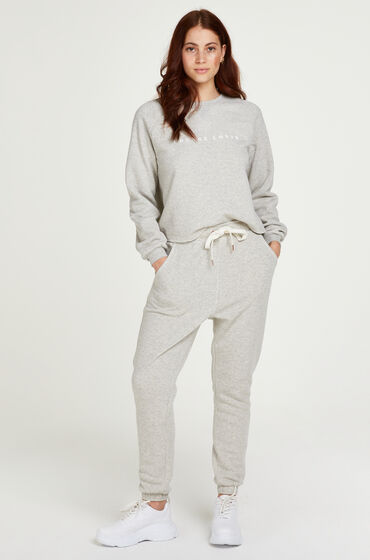 Hunkemöller Joggingbyxor i borstad sweatshirt – Petite Grå
