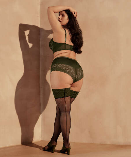 Stay-ups 15 denier I AM Danielle, grön