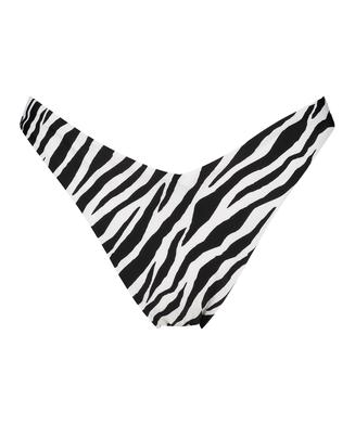 Högt skuren Rio-bikiniunderdel HKM x NA-KD, Vit